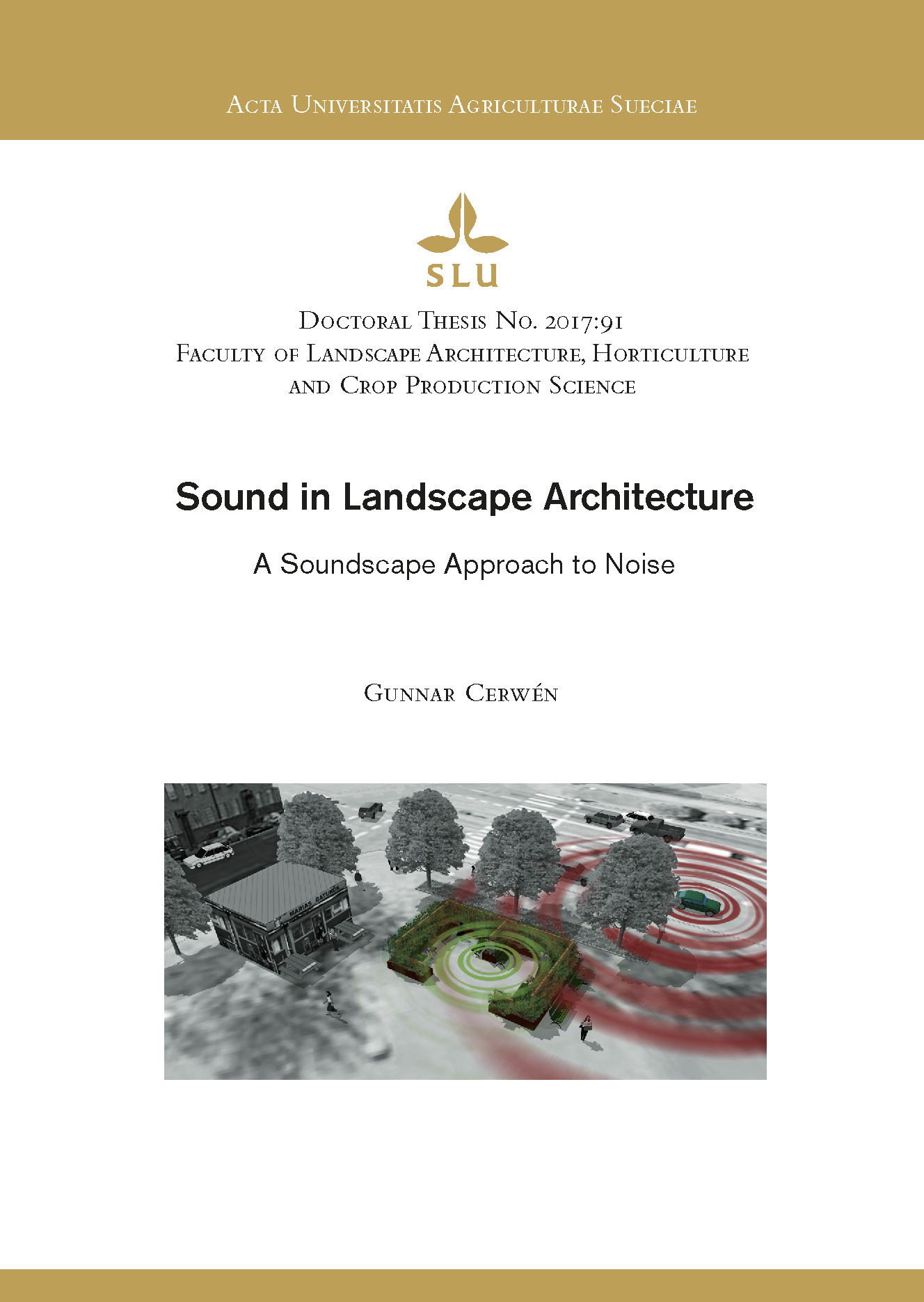 Cerwén Sound in landscape architecture - a soundscape approach to noise - front_Sida_1